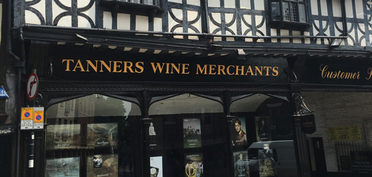 Tanners Wine Merchants, Shrewsbury